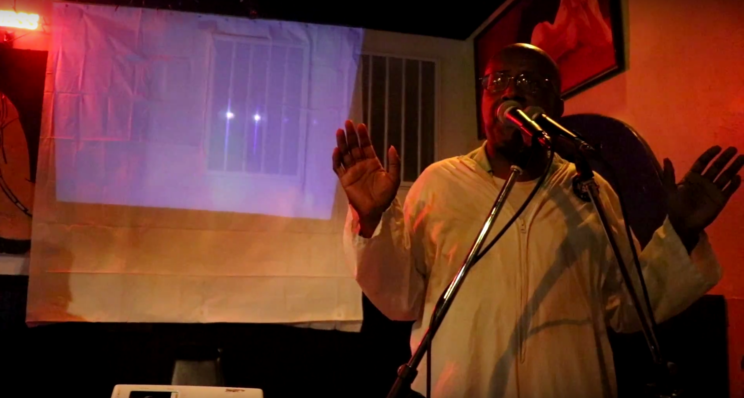 Adult Swim star, David Liebe Hart, performs at Duffy's Tavern. Photo credit: Carin Dorghalli