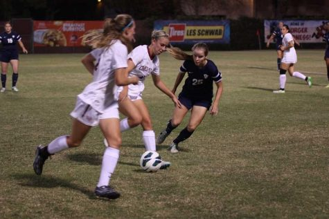 Chico State women's soccer won their first game in double overtime on Sept. 1. Photo credit: Allisun Coote