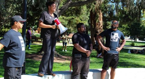 #BlackInChico protest holds moment of silence for lost lives