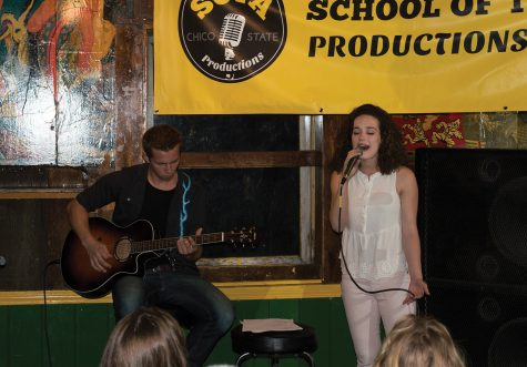 Whitney Hayes, and Weston Andrews sing some heartfelt christian songs. Photo credit: Sean Martens
