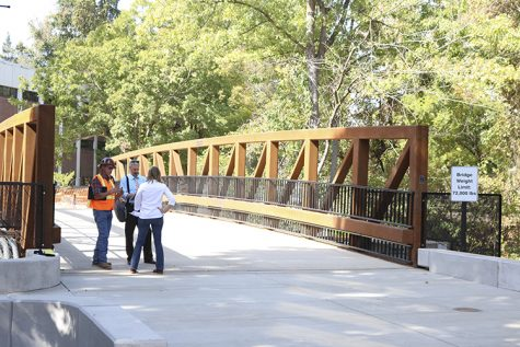 Physical Science bridge now open