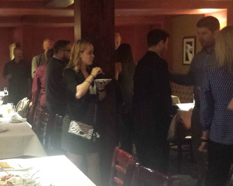 Chico residents mingle with City Council candidates at the first YPO mixer. Photo credit: Katia Berg