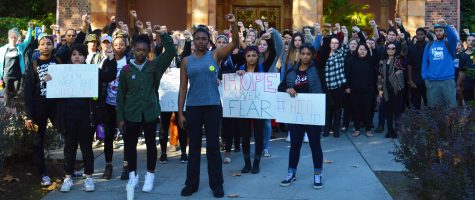 Students unite for solidarity walk