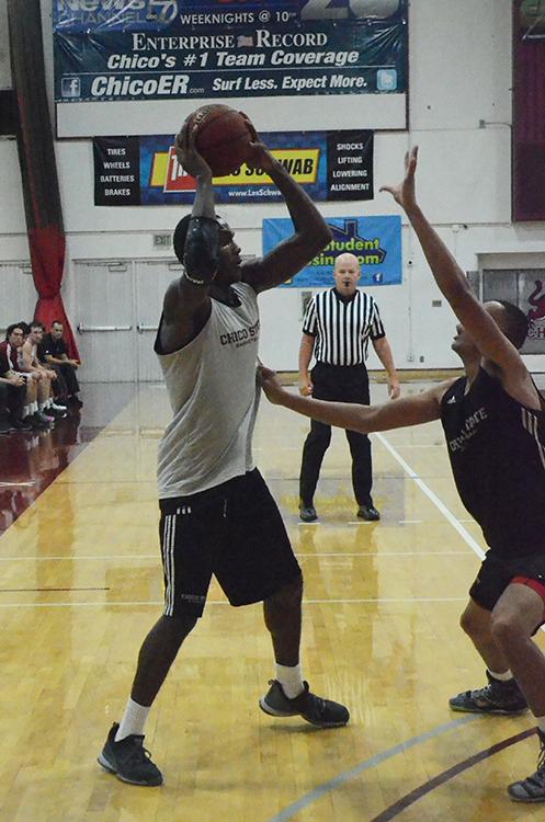 Junior forward Isaiah Ellis looks for a teammate to pass the ball to. Photo credit: Jordan Jarrell