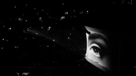 Adele's stage in San Jose, California. Photo credit: Rylee Pedotti