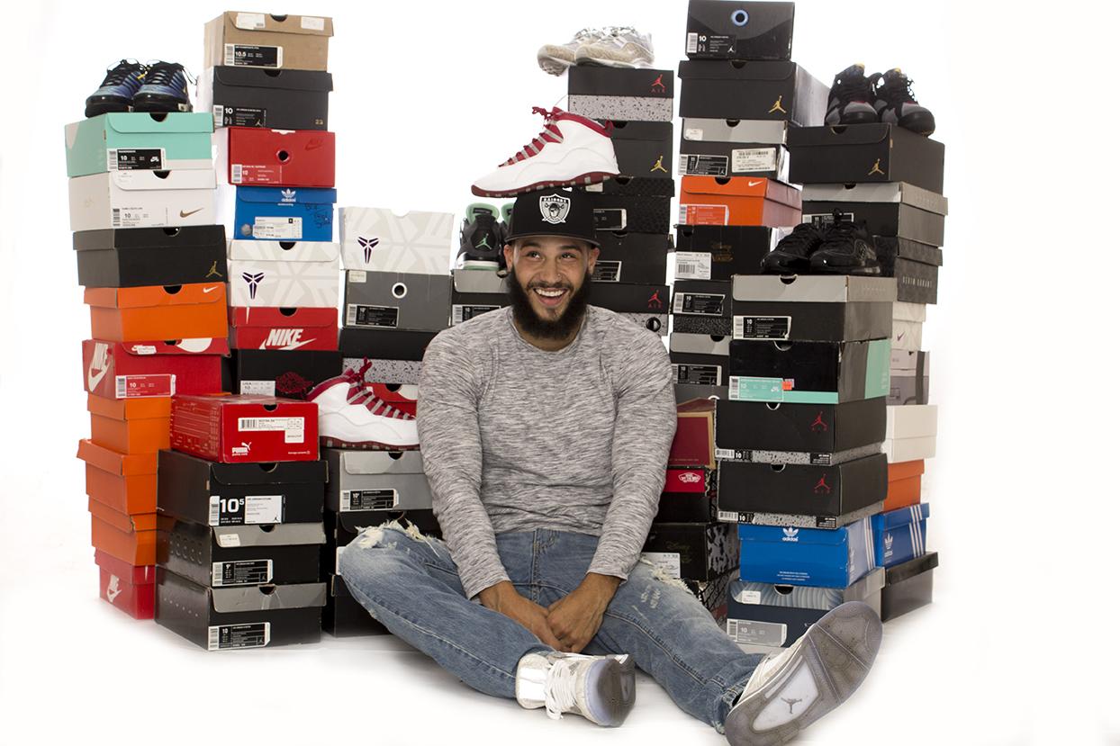 Real Sneakerhead certified ! Photo credit: Jordan Rodrigues
