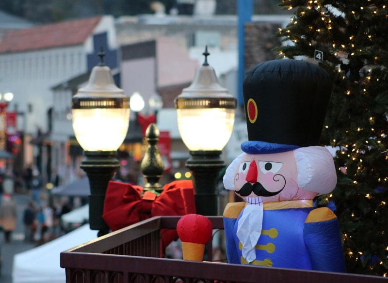 Christmas festivities in Placerville. Photo credit: Matthew Manfredi