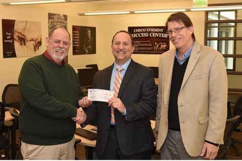 SSC receives $5,000 alum donation