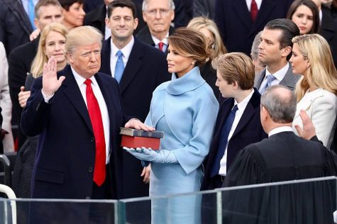 Trump's inauguration sparks mixed reactions