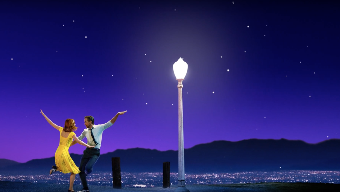 Screenshot from the La La Land trailer