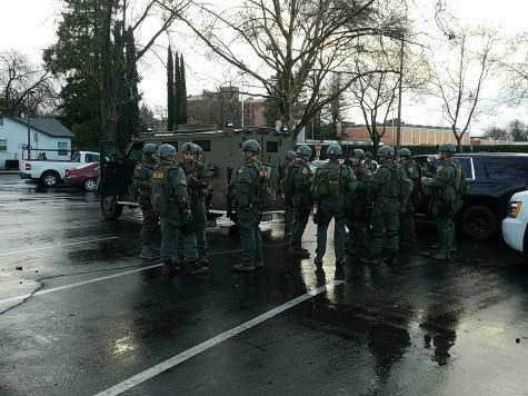 SWAT team prepares for raid