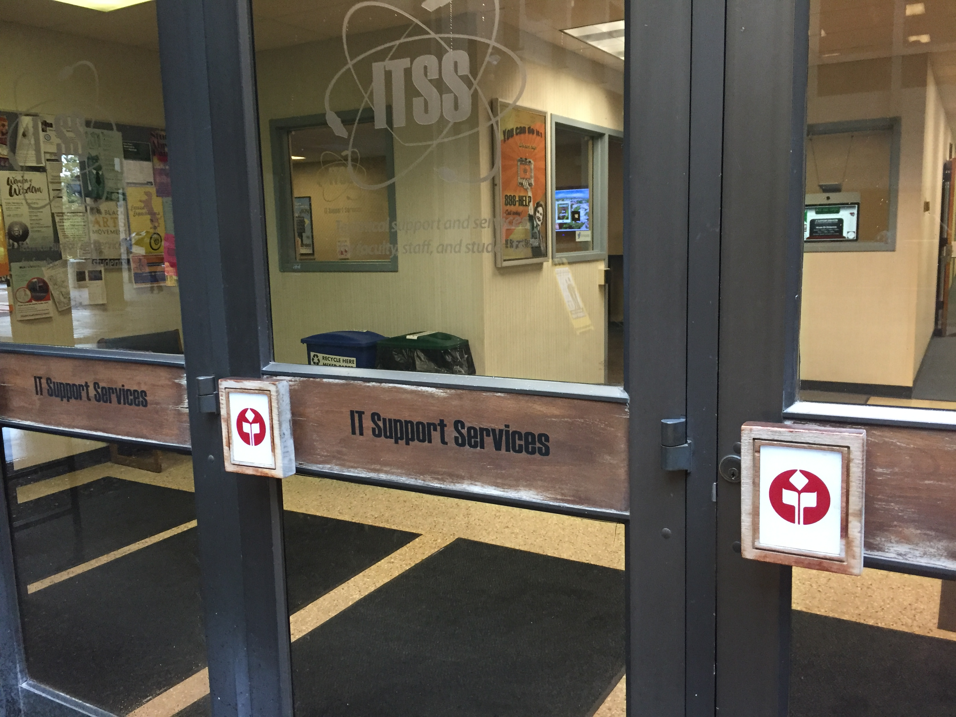 ITSS is located on the first floor of the Meriam Library. Photo credit: Carly Campbell