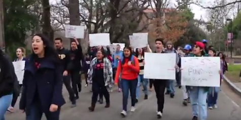 Chico State students march against tuition increase