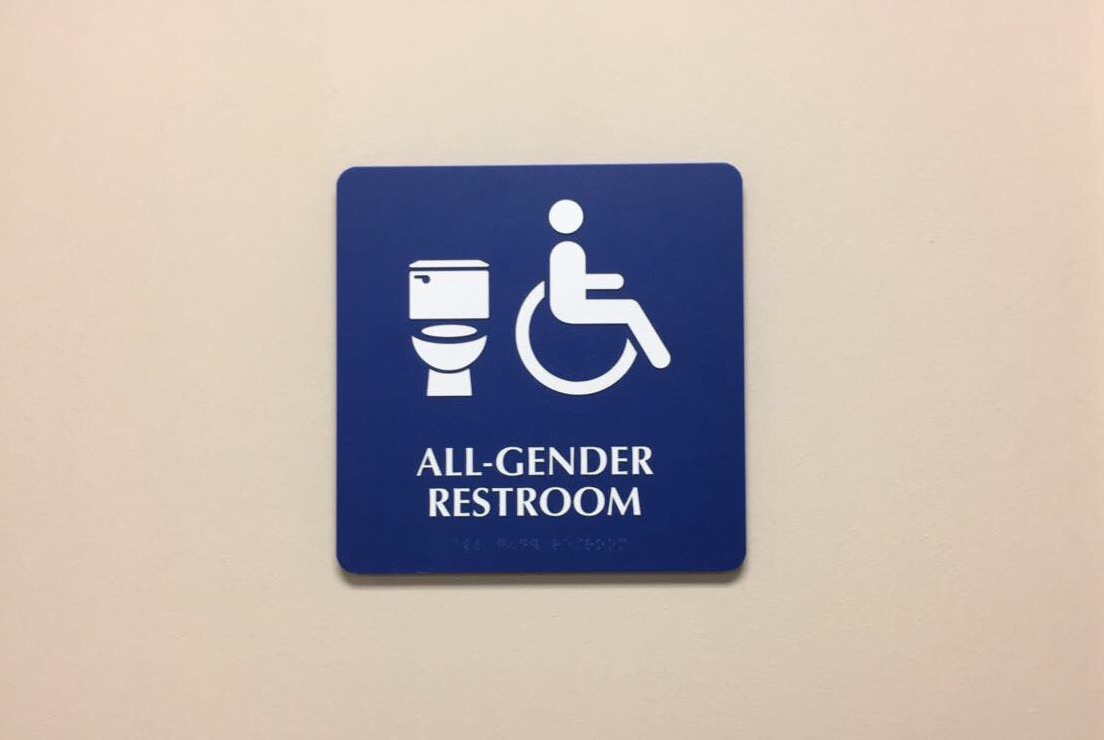 All-gender restroom Photo credit: Alejandra Fraga