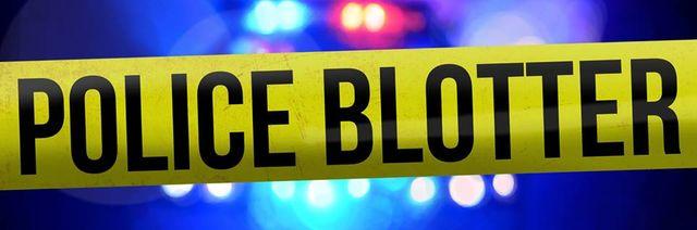 Police blotter. Photo credit: Miles Huffman