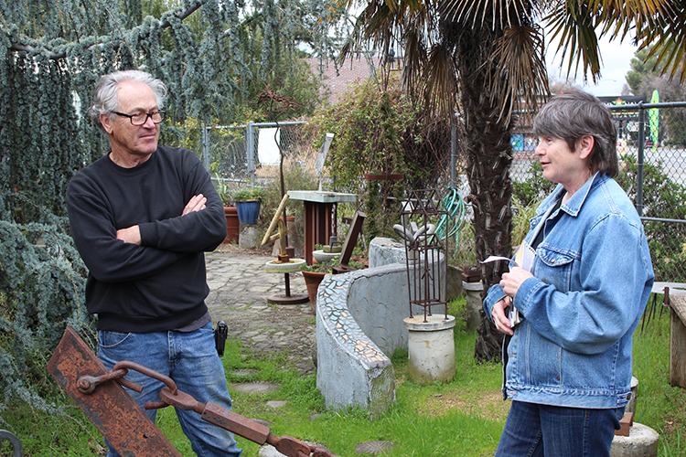 Local Artist couple share love for sculptures