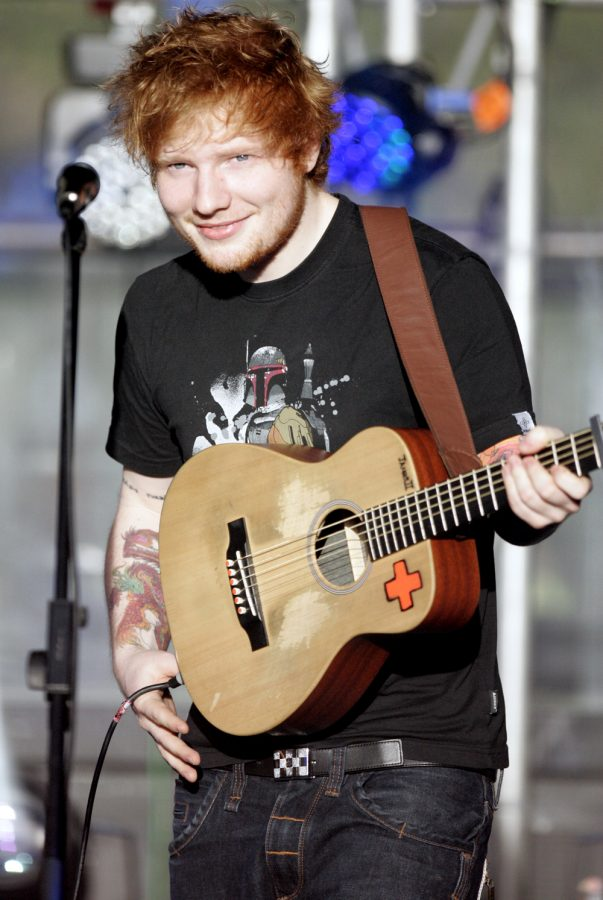 New year, new Sheeran