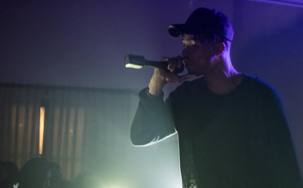 Calex performing at DJ Malachi's Nef the Pharoah Concert Photo credit: Natasha Doron