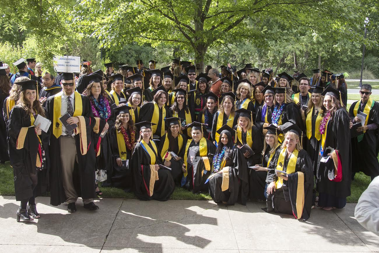 Department of Social Work graduate students Photo credit: School of Social Work