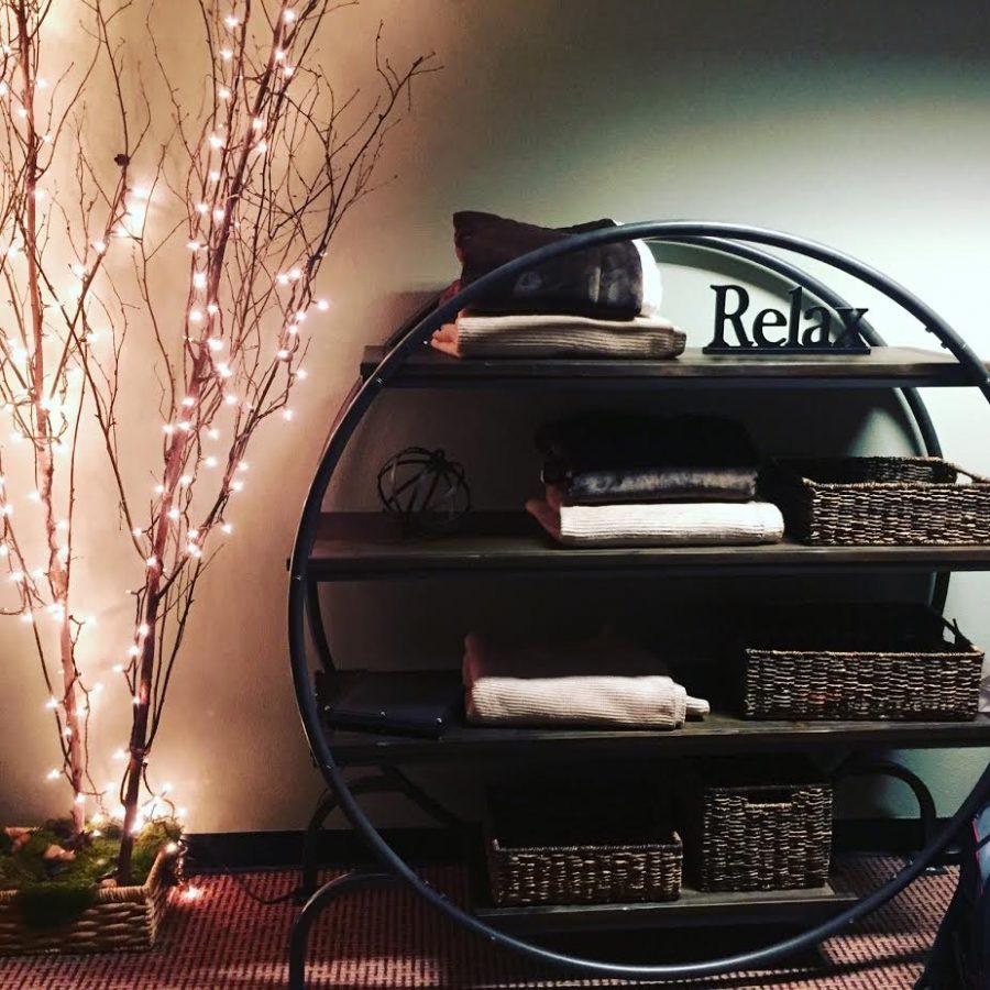 Zen Den amenities include blankets to nap in and activities to de-stress with. Photo credit: Crystal Jinkens