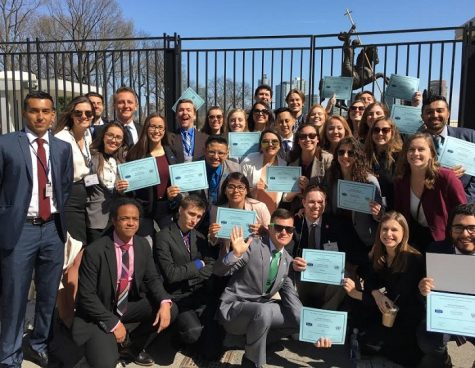 Chico State Model United Nations team wins top award at national conference