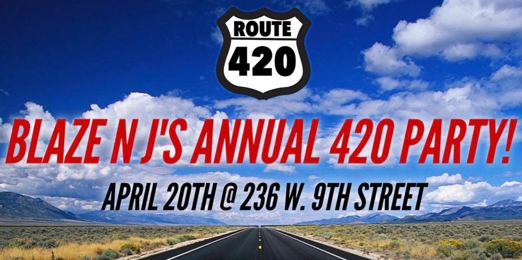 Blaze N Jays Hosts Annual 420 Party