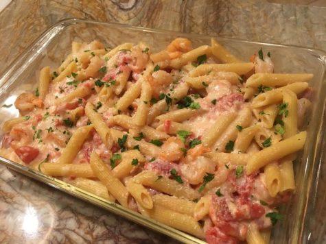 Shrimp alfredo pasta recipe for two