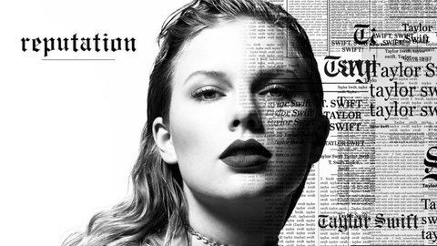 Taylor Swift's teaser for her new album,