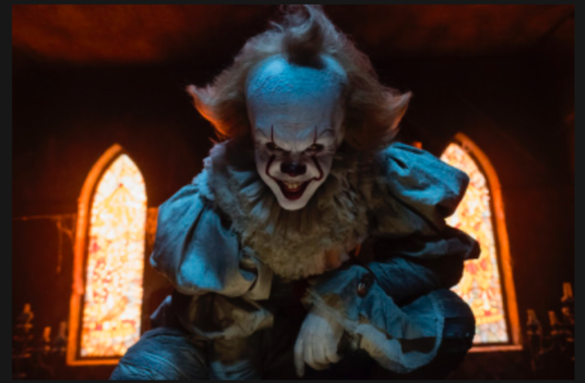 IT the clown  Courtesy of itmovie