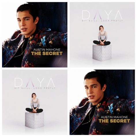 Austin Mahone and Daya album artwork