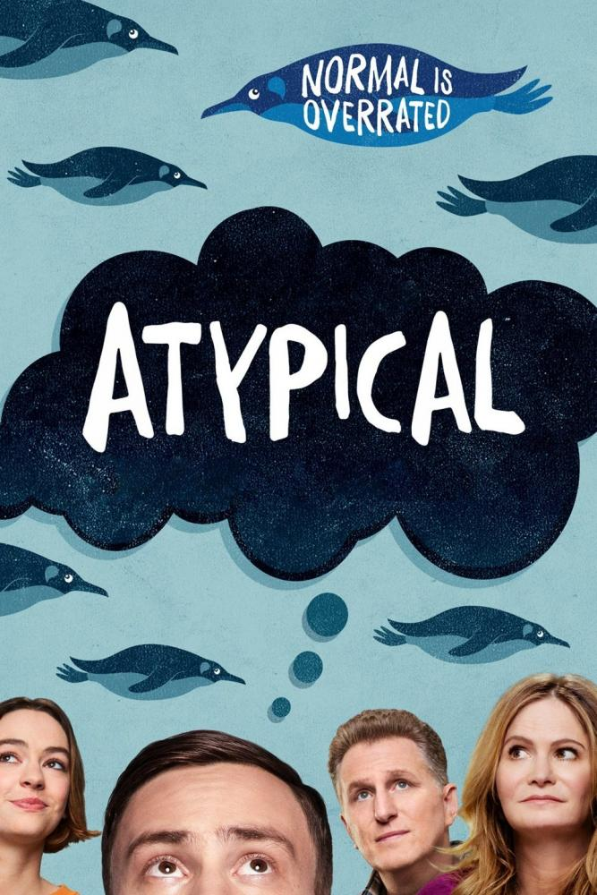 Promotional poster for 'Atypical,' which is about a boy named Sam who's on the autism spectrum.