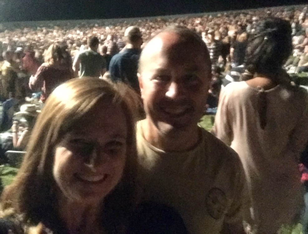 Reed attended the Jason Aldean concert with her husband in Wheatland. A similar performance was held in Vegas during the shooting. Courtesy image of Deanna Reed.