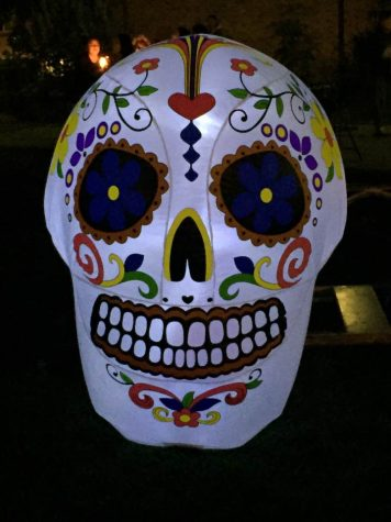 Students at Chico State celebrate Day of the Dead