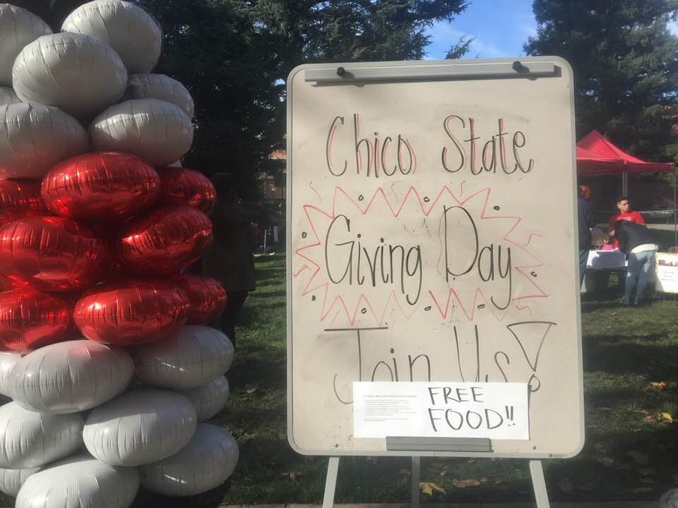 Student organizations encouraged the community to participate on the national day event. Photo credit: Sean Martens