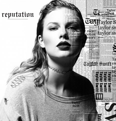 Taylor Swift Album Art - Reputation