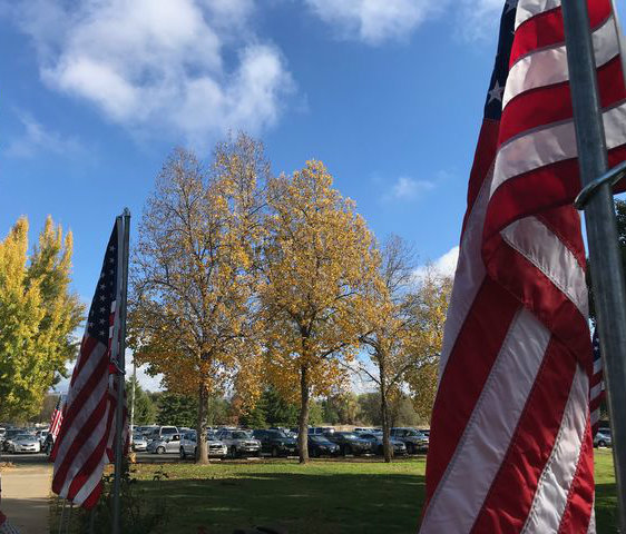 Veterans Day ceremony was held at Chico Elks Lodge. Photo credit: Christian Solis