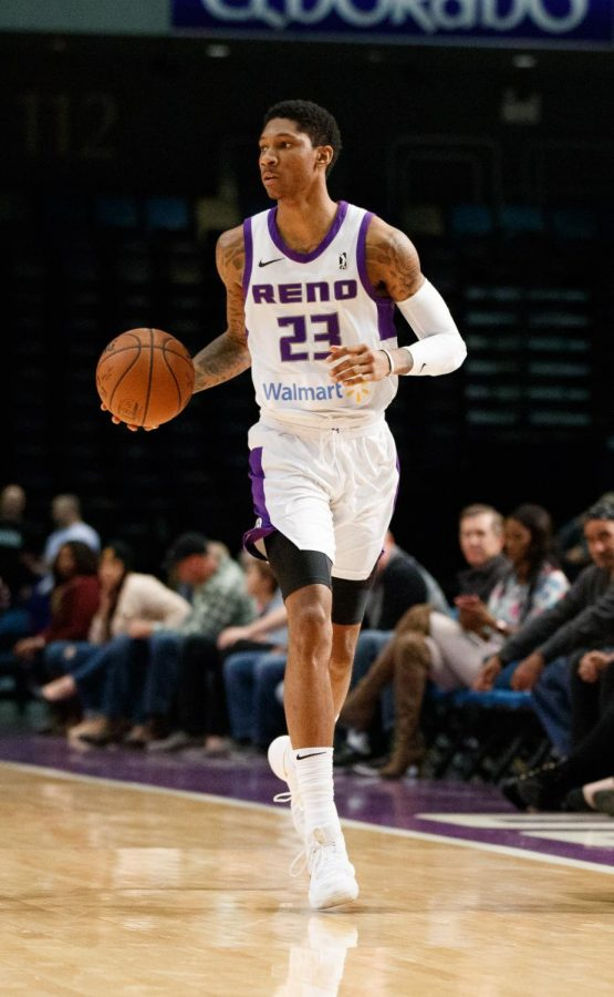 Reno+Bighorns+Guard+Michael+Bethea+during+the+NBA+G-League+Basketball+game+between+the+Reno+Bighorns+and+the+Memphis+Hustle.%0A%0APhoto+courtesy+of+Michael+Bethea