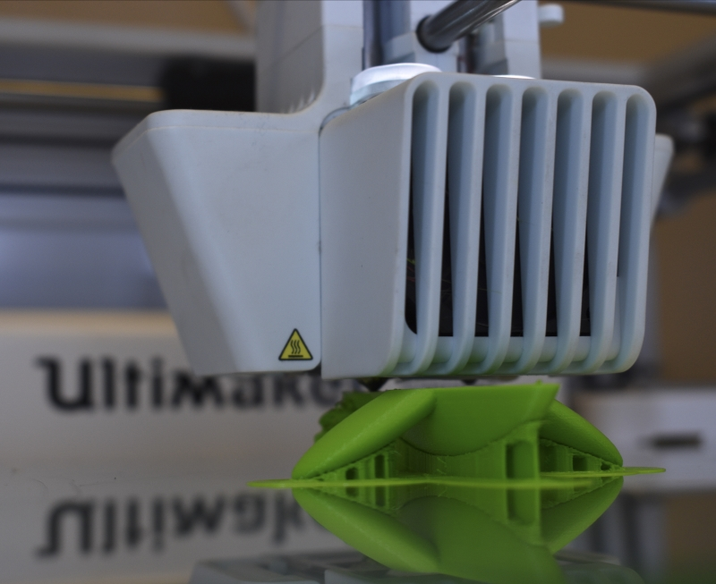 Ultimaker+3+Extended+3-D+printer+printing+a+fish+model+Photo+credit%3A+Alex+Grant