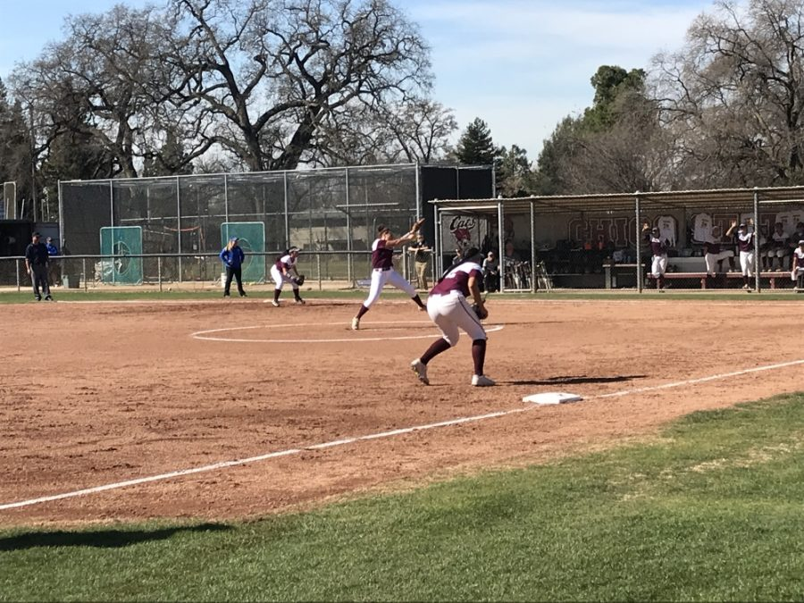Pitcher+Haley+Gilham+is+one+of+the+Wildcats+off+to+a+hot+start+this+season%2C+starting+9-0+with+a+.70+ERA+after+nine+games.+Photo+credit%3A+Katalina+Santamaria