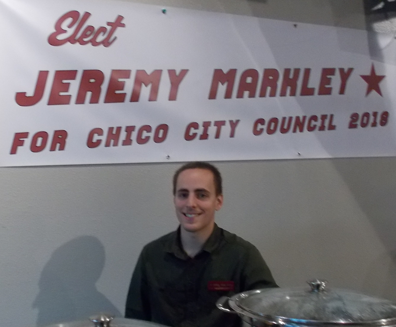 Student Jeremy Markley has officially announced his campaign for City Council. Photo credit: Josh Cozine