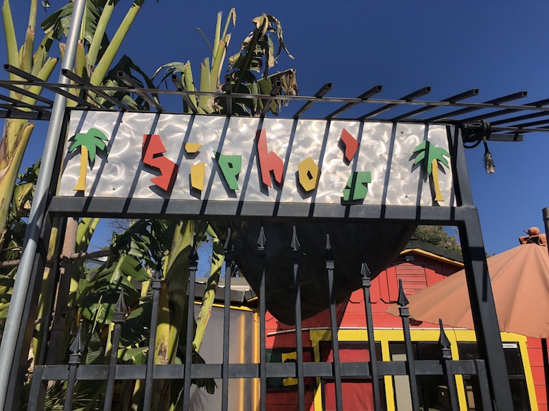 This Jamaican restaurant is located next to the orchards along Dayton Highway. Photo credit: Natalie Hanson