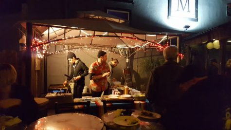 Tacos Borrego dished up tacos for guests at the Maltese fundraiser Saturday night. Photo credit: Tisha Cheney