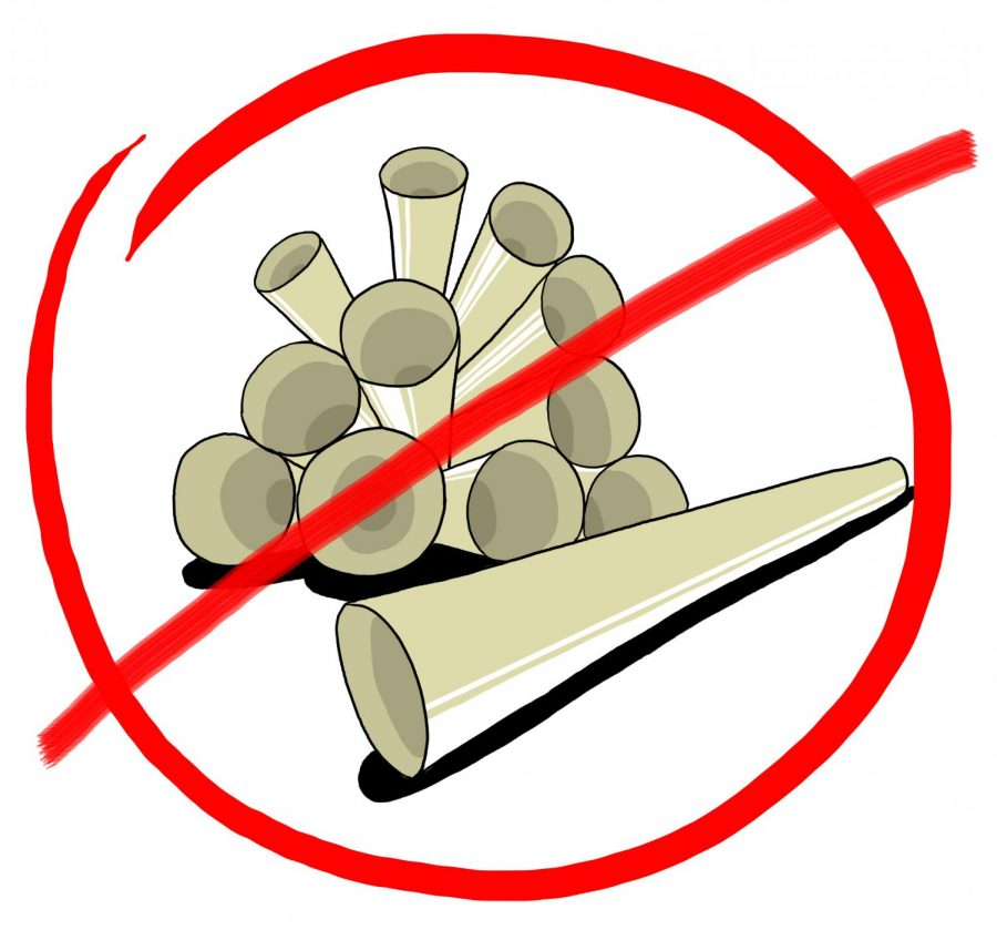 Do you think straws should be banned on campus? Photo credit: Jaime Munoz