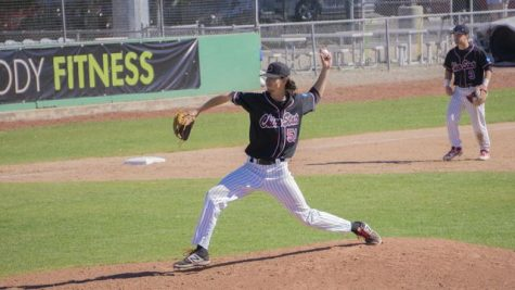 Wildcats' Grant Larson throws shutout against Pioneers to end four game skid
