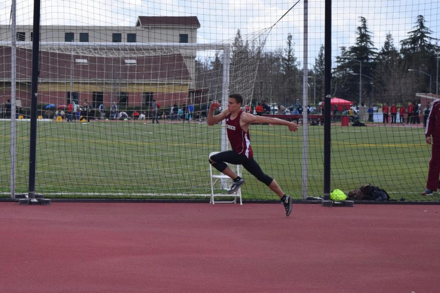 Tyler Arroyo gets ready to attempt the high jump. Photo Courtesy: Oliver Hanf