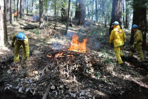 Cal Fire starts controlled burns after recent rains