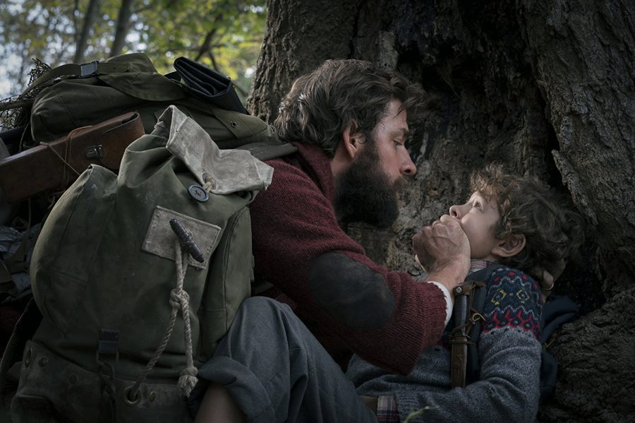 John Krasinski and Noah Jupe star as Lee and Marcus Abbott in