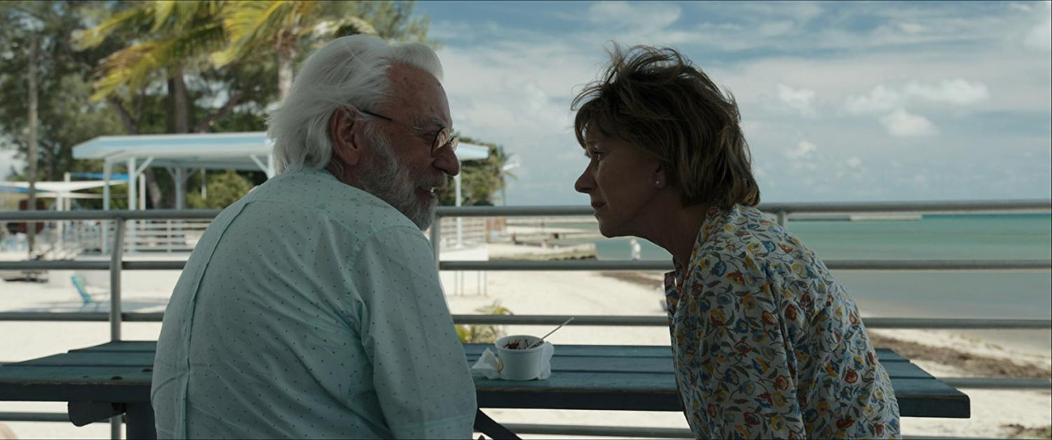 Donald Sutherland and Helen Mirren star as John and Ella Spencer in