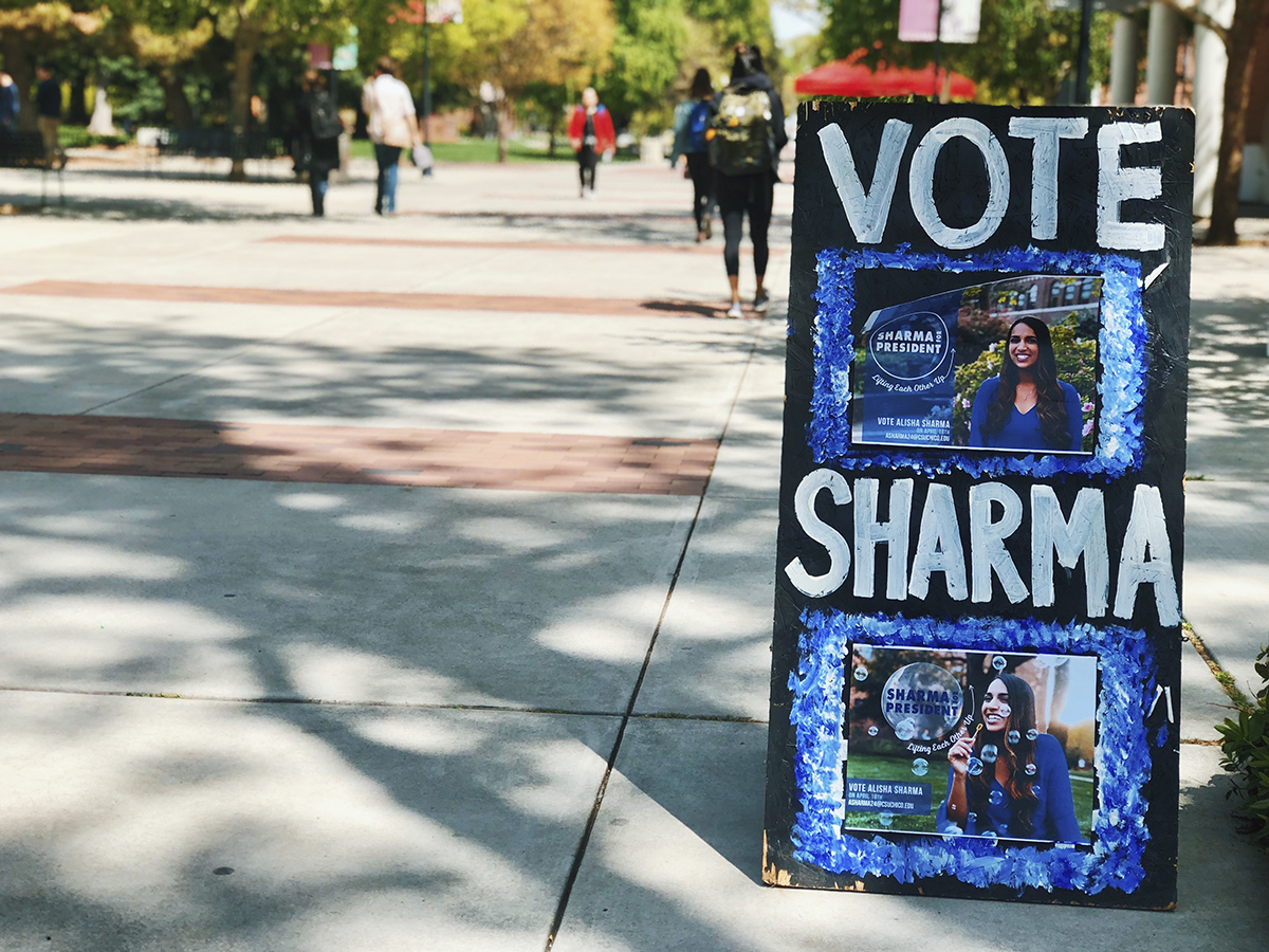 The AS Election is closed and all wrapped up! Who did you vote for Wildcats? Photo credit: Kelsey Veith
