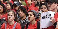 Students for Quality Education protest potential tuition increase